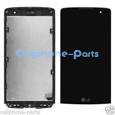 LG Leon H326T H340N H345 MS345 H343 LCD Screen Display + Digitizer Frame White