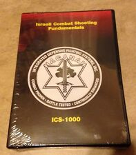 Israeli Combat Shooting Fundamentals ICS-1000 Instructional DVD NEW fact sealed