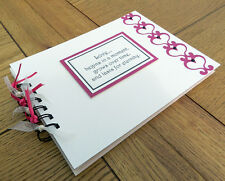 Valentine love hearts gifts, scrapbook album,memory book, can be personalised