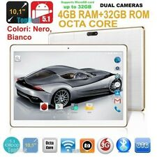 PC tablet 10.1 pollici  Octa Core 4GB RAM 32GB ROM  Android 5.1 Dual Sim 3G