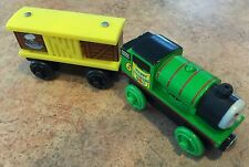 Authentic Wooden Thomas Train Easter Percy & Mr Jolly's Chocolate Bunny Box Car!
