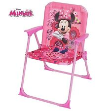Disney MINNIE MOUSE kids folding ARM CHAIR Children's Playroom Bedroom Furniture
