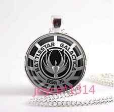 Battlestar Galactica Tibetan silver movie necklace for women men Jewelry #1087