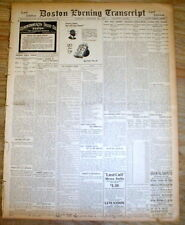 2 1913 newspapers JIM THORPE STRIPPED of his OLYMPIC MEDALS forPlay PRO BASEBALL