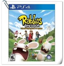 PS4 SONY PlayStation Games Rabbids Invasion Action Ubisoft