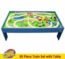 Conductor Carl 80 Piece Train Table and Playboard Set. 100% Compatible with the