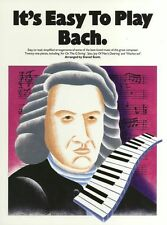 It's Easy To Play Bach Learn Classical Piano Air on the G String Music Book