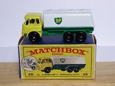 Matchbox Lesney No.25c Bedford 'BP' Petrol Tanker In Type 'E1' Series Box (VGC!)