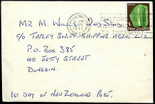 New Zealand 1987 Cover To UK #C37758