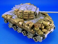 LEGEND PRODUCTION, LF1117 Sherman M4A3 sandbag Armor set #2 , 1:35