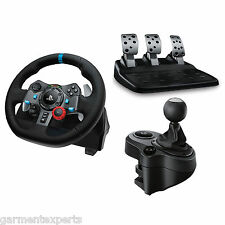 Logitech G29 racing wheel + pédales + shifter (PS4/pc) - bundle-neuf
