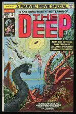 The Deep 1977 Movie Adaptation Comic from author of JAWS Carmine Infantino art