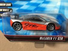 Hot Wheels Speed Machines MCLAREN F1 GTR orange Silver