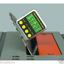 MAGNETIC DIGITAL ANGLE GAUGE FOR TABLE SAW WHEEL CAMBER ADJUSTMENT LEVEL FINDER