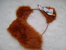 Care Bear Tenderheart Bear Tan/Orange Ears With Care Bear Bow And Stubby Tail