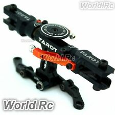 Tarot CNC Flybarless Conversion Head Black For Trex 450 V2 PRO SPORT -RH45110-07