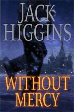 Without Mercy By Jack Higgins Used Book Hardback W/Dust Cover