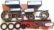 Aprilia RS125 RS 125 Full Koyo Bearing & Seal Kit Rotax 122 & 123