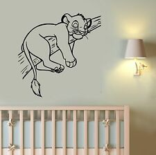 Simba Lion King Wall Decal Vinyl Sticker Disney Cartoon Art Nursery Decor ling8