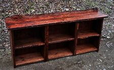 Rustic Red Pine Book Case Shelf Wood Furniture Log Cabin Cottage FREE SHIPPING!!