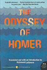 "The ""Odyssey"" of Homer by Richmond Lattimore 9780061244186 (Paperback, 2007)"