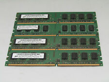 8GB kit Of 2GB Micron 2Rx8 PC2-6400 Desktop Computer Ram Memory