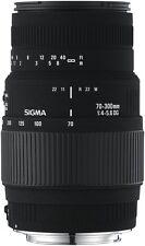 NEW Sigma 4509955 AF 70-300/4-5.6 Macro DG Lens for Nikon
