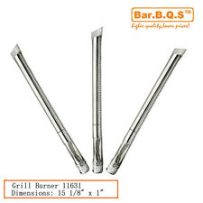 """15 1/8"""" BBQ Parts Gas Grill Burner 11631 3PK STB1 For Kenmore Sears Grill Chef"""