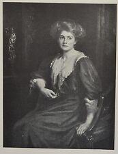 """""""Chloe, Daughter of H. E. Preston"""" by J. J. Shannon. The Studio, 1909."""