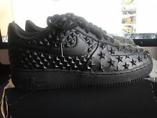 NEW NIKE AIR FORCE 1 LV8 VT BLACK MENS SNEAKERS SIZE 8.5 789104-001  NO Box TOP,
