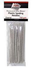 Alpha Abrasives 150 Plastic Sanding Needles 150 grit Coarse #0401