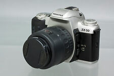 Pentax ZX-50 Autofocus 35mm SLR Film Camera Body with SMC Pentax-F 35-80mm f/4-5