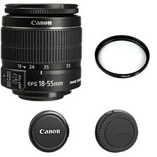 Canon EF-S 18-55mm f/3.5-5.6 IS II + 58 UV Filter, BRAND NEW
