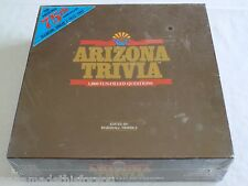 Arizona Trivia Game 1000 Fun-Filled Questions Unopened Sealed Box 1985 10-Adult