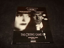 THE CRYING GAME 1992 Oscar ad Stephen Rea as Fergus, Miranda Richardson as Jude