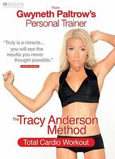 The Tracy Anderson Method Total Cardio Workout Exercise Fitness DVD