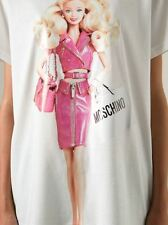 $375 MOSCHINO COUTRE X JEREMY SCOTT BARBIE PINK T-SHIRT SZ XS SOLD OUT Tee-shirt