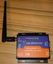 USR-WIFI232-610 WIFI Ethernet to RS232 RS485 Serial Converter IEEE802.11 b/g/n