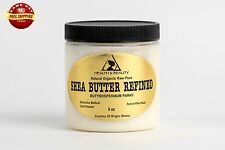 SHEA BUTTER REFINED by H&B Oils Center COLD PRESSED PREMIUM FROM GHANA RAW 8 OZ