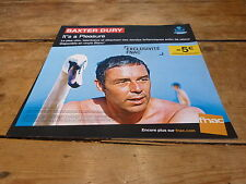 BAXTER DURY - IT'S A PLEASURE !!!!FRENCH RECORD STORE PROMO ADV / DISPLAY!!