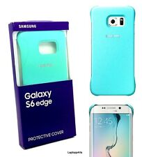 100% autentico ufficiale Samsung Galaxy S6 bordo MINT COVER ef-yg925bmegww