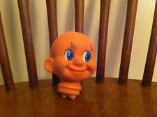 vintage antique doll head Caucasian unisex any age Unknown Dopey Plastic old odd
