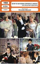 Fiche Cinéma. Movie Card. Quest-ce que maman comprend à l'amour ? (USA) 1958