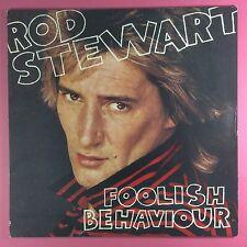 Rod Stewart - Foolish Behaviour - Riva Records RVLP-11 Ex Condition Vinyl LP