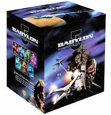 Babylon 5 Complete Series Season 1 2 3 4 5 + Movie + Crusade DVD Box Set | NEW