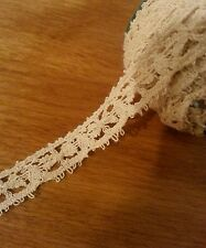 1 + Yards Antique Lace Loops Dainty French German Dolls Sewing Crafters