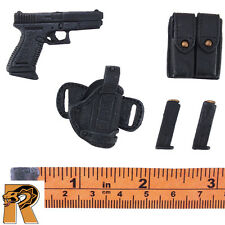 Riot Police Mason - Pistol w/ Holster & Mags - 1/6 Scale ZC World Action Figures