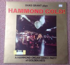 1975 DUKE GRANT PLAYS HAMMOND GOLD  STEREO GOLD AWARD MER 395 A/B  N/MINT