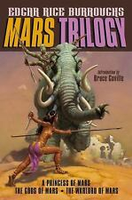 Mars Trilogy: A Princess of Mars; The Gods of Mars; The Warlord of Mar-ExLibrary