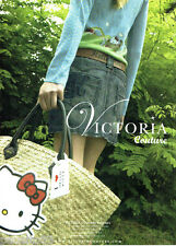 PUBLICITE ADVERTISING 1016  2007   Victoria Couture pret à poeter Hello Kitty